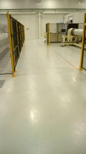pavimentazione in resina - Ambito Meccanico - BASIC QCF COLORMIX System