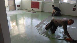 Pavimenti in resina a Sondrio, in Lombardia e Nord Italia