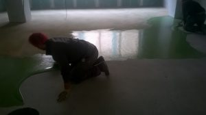 Pavimentazione in resina colore verde - Pavimenti in resina per aziende farmaceutiche in Lombardia e tutto il nord Italia