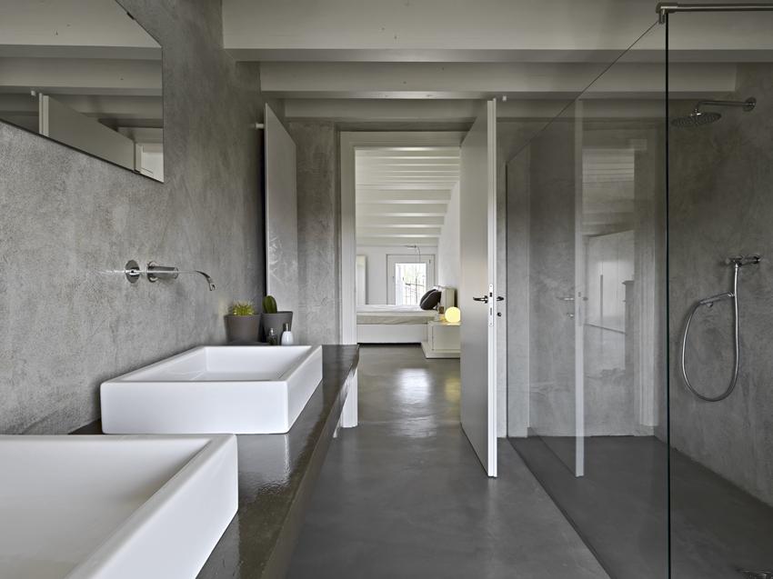 Per un bagno moderno e di design scopri la resina la scelta ideale per qualsiasi tipo di - Rivestimento bagno moderno ...